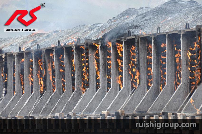 Burning silicon carbide