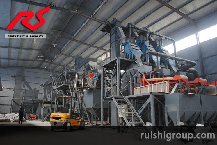 The factory granulation workshop