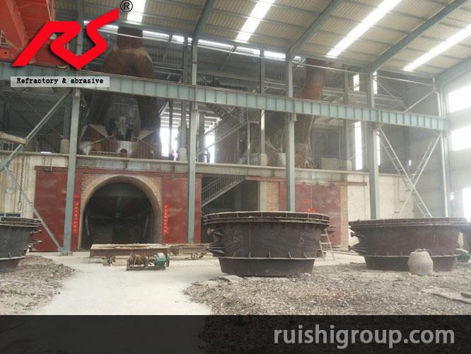 Tilting furnace smelting furnace